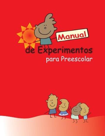 Manual de Experimentos para Preescolar - Concyteq