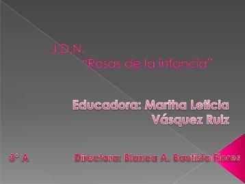 Martha Leticia Vásquez Ruiz Grado