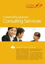 Careers@S Ngapore Consulting Services - Contact Singapore