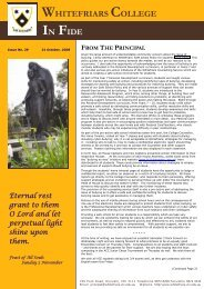 Issue No. 29 - October 31, 2008 - Whitefriars