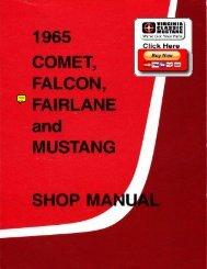 Demo - 1965 Ford Shop Manual - ForelPublishing.com