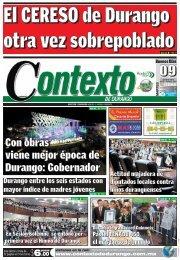 09/07/2013 - Contexto de Durango