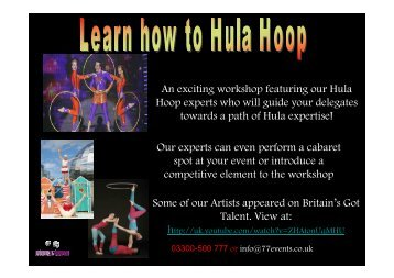 Learn how to...Hula Hoop - Doub7e Seven
