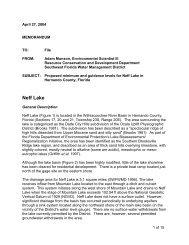 Neff Lake - Southwest Florida Water Management District