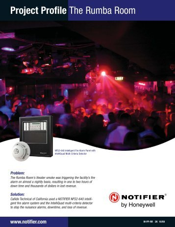 Rumba Room - Notifier