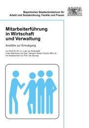 Mitarbeiterführung in Wirtschaft und Verwaltung - Bayern