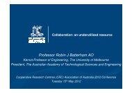 Download presentation - CRC Association