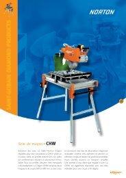 Scie de maçon CHW - Norton Construction Products