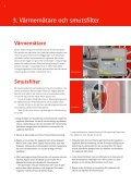 Skötselråd för din fjärrvärmeanläggning - E-on - Page 6