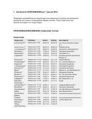 1. Aardwarmte VERGUNNINGEN per 1 januari 2013 ...