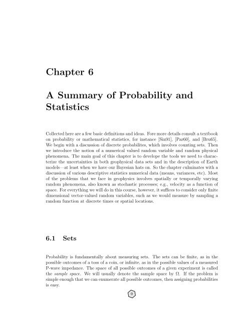 a review of basic probability theory from another course I teach