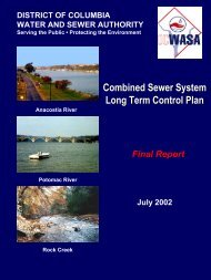 Combined Sewer System Long Term Control Plan - DC Water