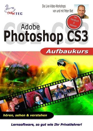 Adobe Photoshop CS3 -  Aufbaukurs - Multimedia Verlag SWANTEC