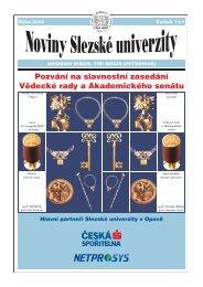 Říjen - Slezská univerzita v Opavě