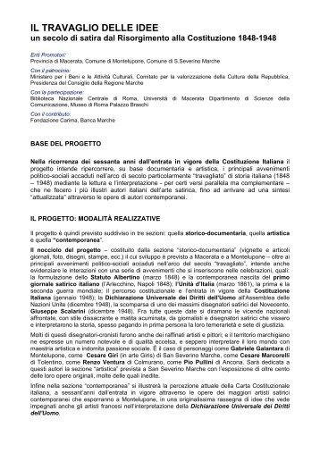 Vedi programma - Centro Studi Gabriele Galantara