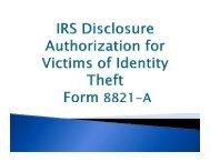 Form 8821-A - Martin County, Florida