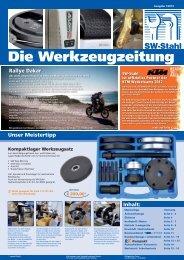 Die Werkzeugzeitung - SW-Stahl & Werkzeugvertriebs GmbH