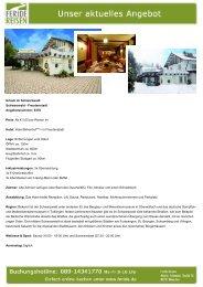 Urlaub im Schwarzwald - Eventreisen - Trierischer Volksfreund