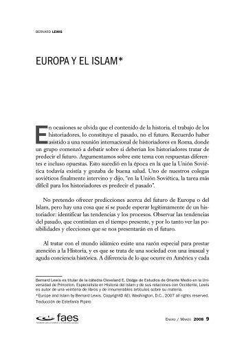 Europa y el islam.pdf - FAES