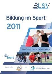 Bildung im Sport - SV Waldeck Obermenzing