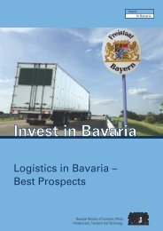 Invest in Bavaria - the Bavarian US Offices for Economic ...