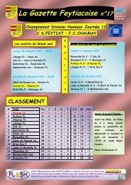 La Gazette Feytiacoise n°17 - Footeo