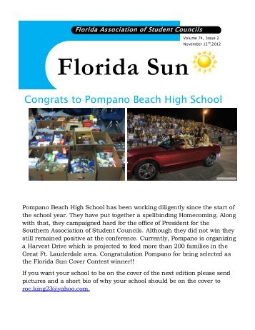 November 2012 Edition - Florida Association of School Administrators