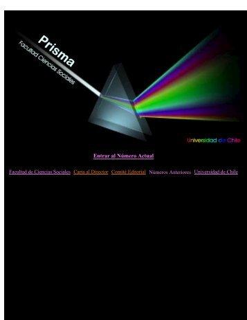 Prisma - Facultad de Ciencias Sociales - Universidad de Chile