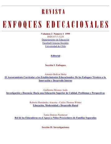 Volumen 2 Número 1 1999 - Facultad de Ciencias Sociales