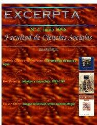 Nº 4, Junio 1996 - Facultad de Ciencias Sociales - Universidad de ...