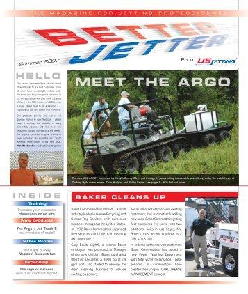 US Jetting Newsletter Summer 2007