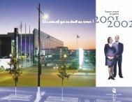Rapport annuel de gestion - Centre des congrès de Québec