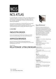 NCS ATLAS — NCS Colour - Mattonbutiken
