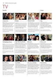 148 SWISS entertainment guide Drama Comedy 2 Broke Girls How I ...
