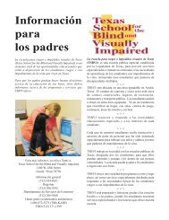 Obtener version PDF (348k) - Texas School for the Blind and ...