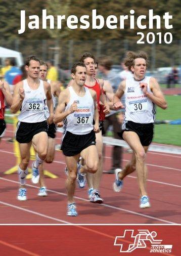 Link zum Jahresbericht 2010 -  Swiss Athletics