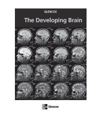 The Developing Brain (9124.0K) - McGraw-Hill Higher Education