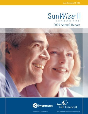 SunWise II - CI Investments