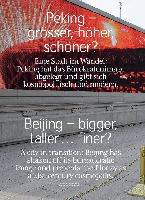 Grösser und höher, daran besteht kein - Swiss