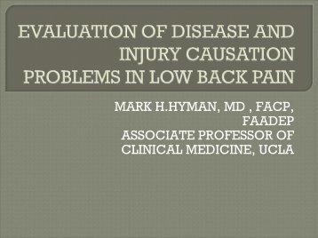 Mark Hyman, M.D.