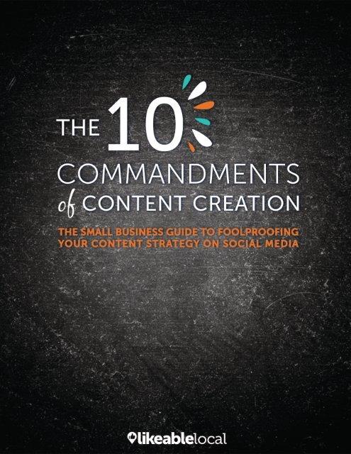 10CommandmentsOfContentCreation