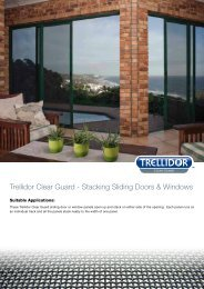 Trellidor Clear Guard - Stacking Sliding Doors & Windows
