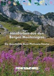 Handarbeit aus den Bergen Montenegros - Media - Montenegro Travel