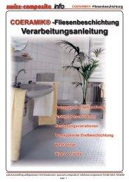 COERAMIK® -Fliesenbeschichtung - Suter Swiss-Composite Group