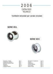 ventilatori elicoidali - Officine Volta SpA