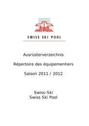 Kontaktweg - Swiss-Ski