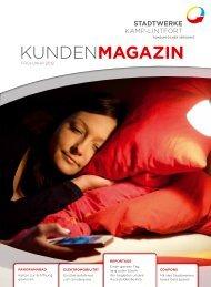 Kundenmagazin - Stadtwerke Kamp-Lintfort GmbH