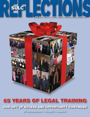 65th Anniversary Issue - Southern University Law Center