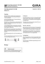 Funk-Steuereinheit 1-10 V EB Gebrauchsanweisung ① ② - Avolta