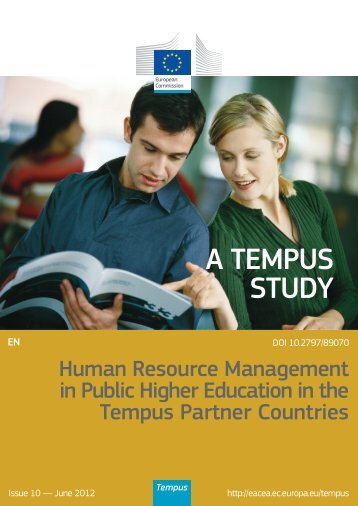 Human Resource Management in Public Higher ... - EACEA - Europa